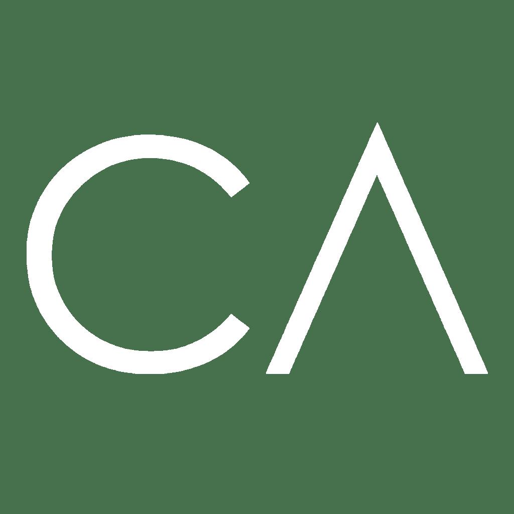 cody askins logo in white